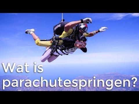 Wat is parachutespringen? | Het Klokhuis