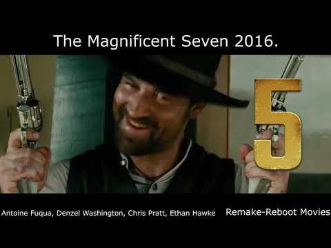 Seven Samurai 1954. - The Magnificent Seven 1960., 2016.