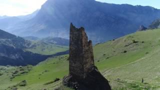 Башня рода Хестановых. Алагирское ущелье