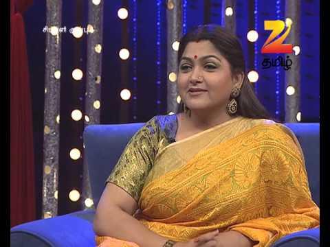 Simply Kushboo - Tamil Talk Show - Episode 24 - Zee Tamil TV Serial - Best Scene