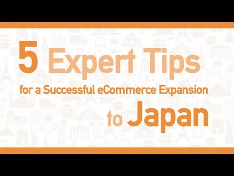 5  expert tips for a successful ecommerce expansion to Japan