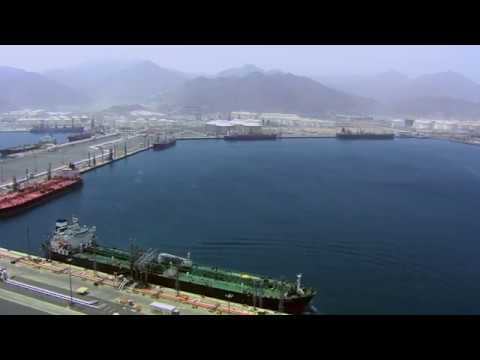 Fujairah Oil Industry Zone (FOIZ) - Drone Video
