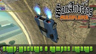 GTA San Andreas SAMP - Loucuras e Rampas Insanas