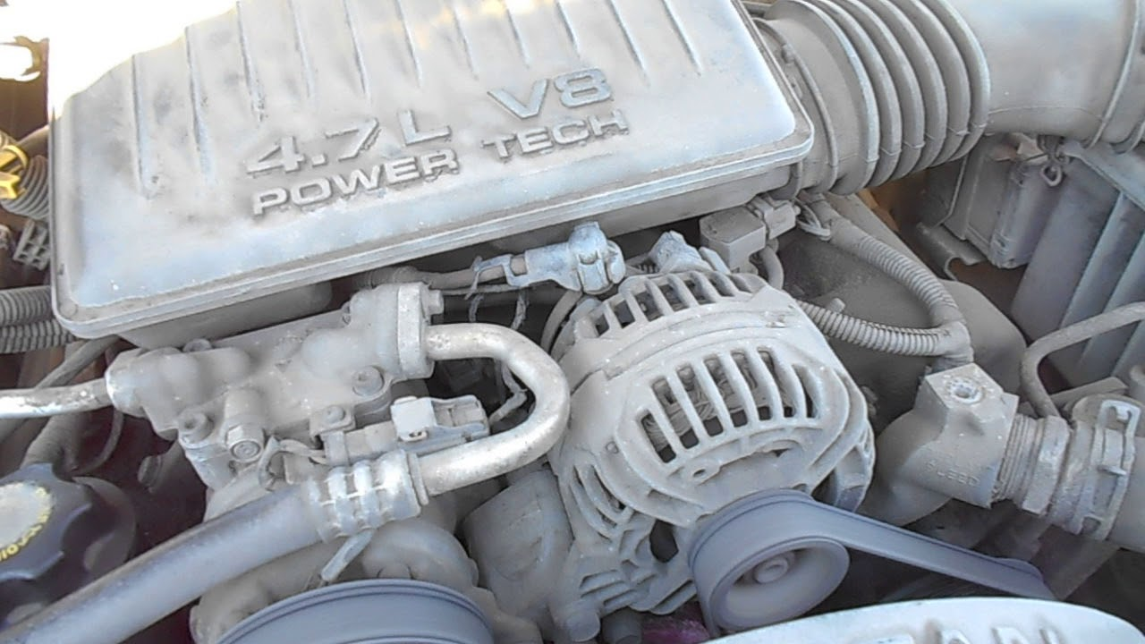 Двигатель PowerTech V8 4.7 л. 223 л.с.Jeep Grand Cherokee (WJ, WG .