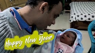 Happy New year From Baby | Bike tour Vlog
