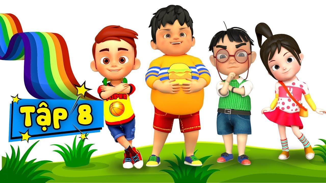 Không gõ bát đũa khi ăn - Kỹ năng sống cho bé qua nhạc thiếu nhi ♥ Phim hoạt hình thiếu nhi - Tập 8