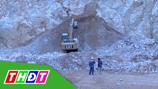 Tai nạn mỏ đá khiến 2 người chết, 1 người chưa tìm thấy | THDT