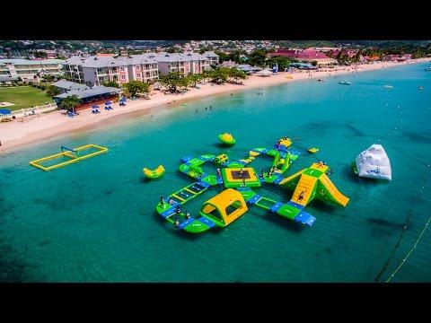 Splash Island Water Park, St.Lucia