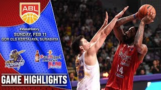 CLS Knights Indonesia vs San Miguel Alab Pilipinas | HIGHLIGHTS | 2017-2018 ASEAN Basketball League