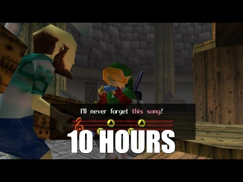 Legend of Zelda: Ocarina of Time  Song of Storms Extended 10 Hours