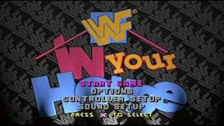 WWF In Your House PlayStation 1 Playthrough