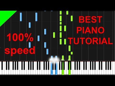 Justin Bieber - Friends (with BloodPop) Piano Tutorial