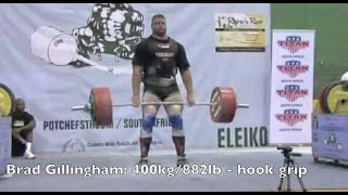 Hook Grip and Deadlifting