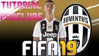 FIFA 19 - TUTORIAL FACE I Cristiano Ronaldo (Juventus FC) [Pro Clubs]