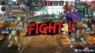 Моё первое видео про игру мутанты генетические войны