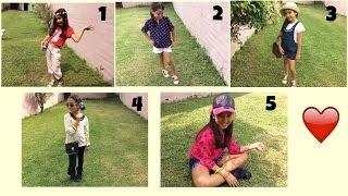 5 ideas de outfits❤️ - gibby :)