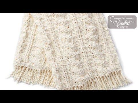 Crochet Cables Blanket