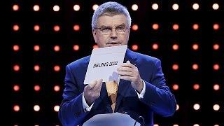 Έξαλλοι πανηγυρισμοί στο Πεκίνο για τους Χειμερινούς Ολυμπιακούς του 2022
