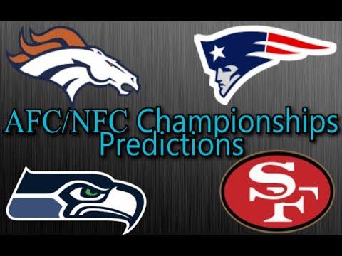 AFC/NFC Conference Championships - 2013-14 NFL Picks