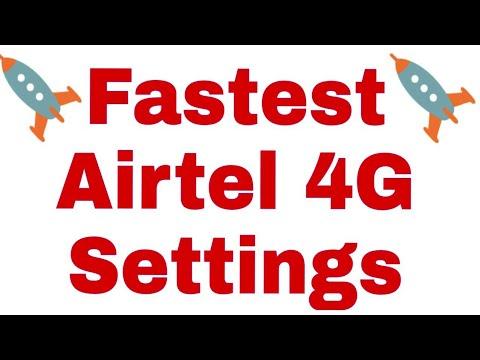 Airtel 4g net settings for redmi note 4