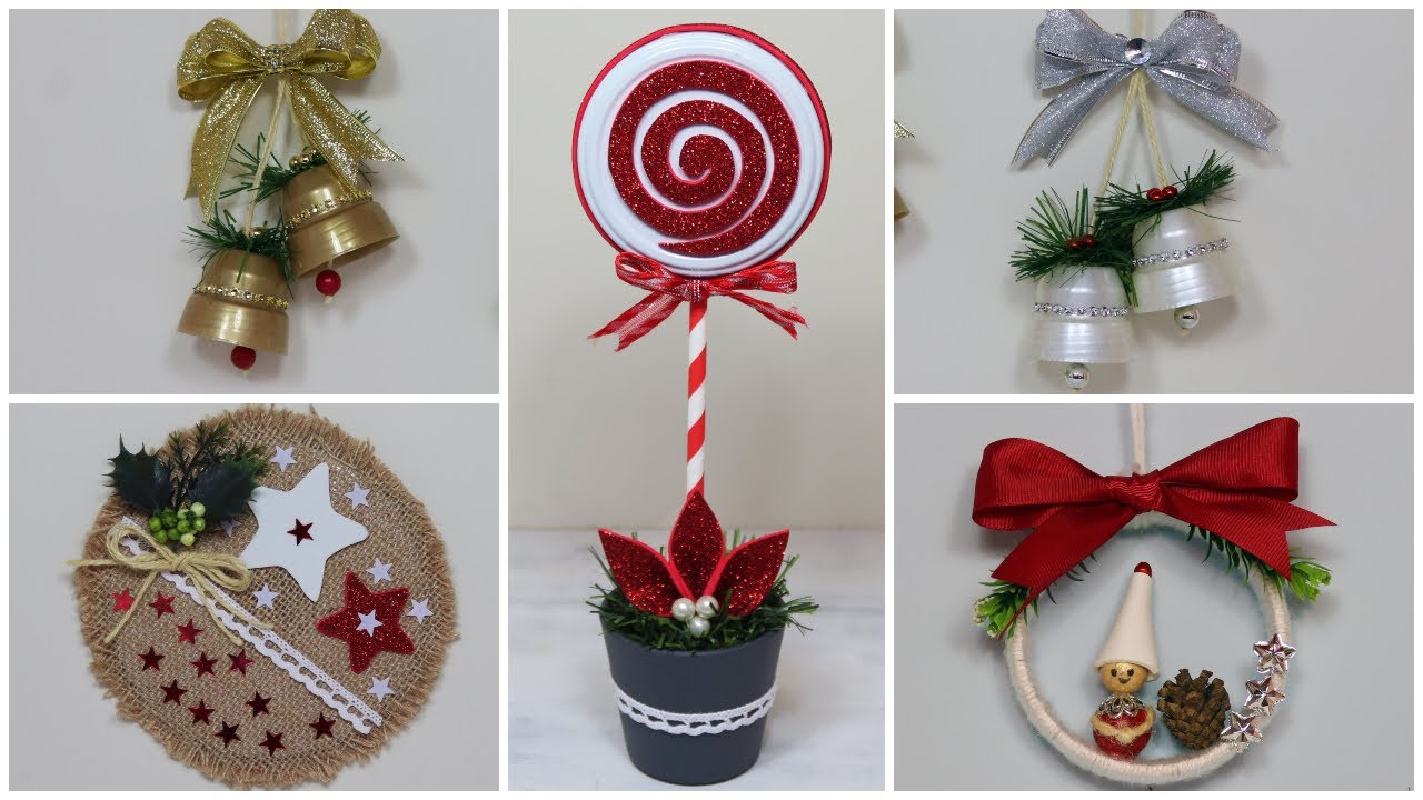 4 Ideas Navideñas 2021  / Manualidades recicladas  / Christmas Crafts  / Diy