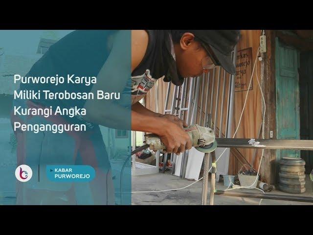 Purworejo Karya Miliki Terobosan Baru Kurangi Angka Pengangguran