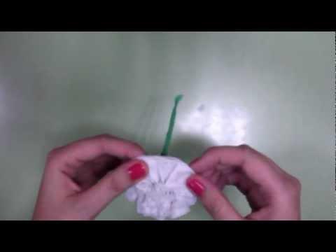 Cómo hacer claveles españoles - YouTube