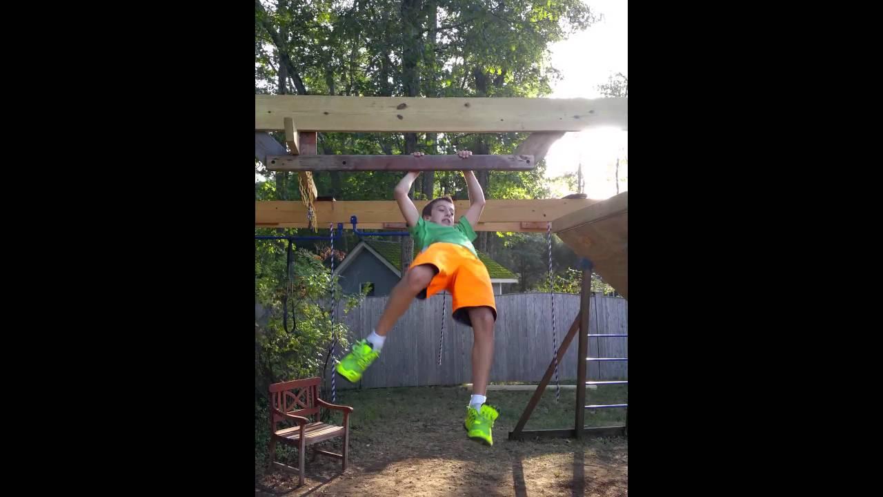 how to build american ninja warrior salmon ladder