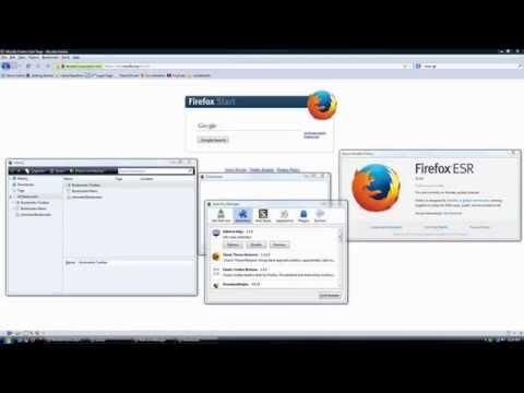 Firefox ESR 31 Completely Transformed Into FF 3.x