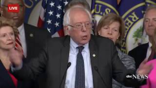 Bernie Sanders Quotes Trump on Entitlement Benefits