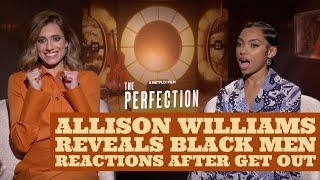 Allison Williams On How Black Men React To Her After Get Out