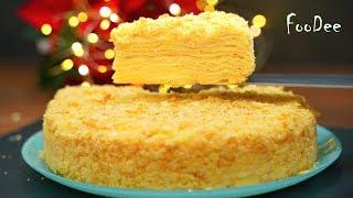 Тот самый торт Наполеон с заварным кремом Нежный мягкий домашний торт