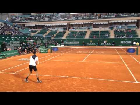 1/4 finals Djokovic in Monte-Carlo Masters 2014