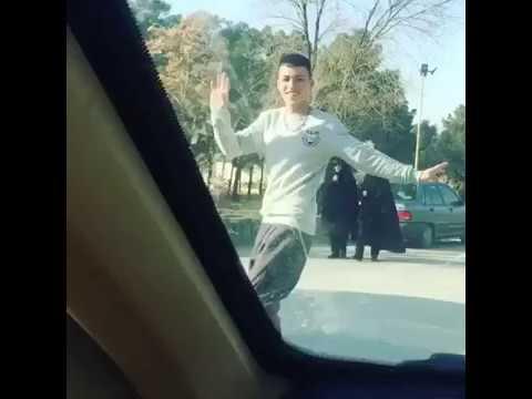 afghan boys dance in iran