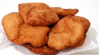 Hollow donuts - Bánh tiêu (Hollow bread)
