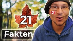 21 kuriose KANADA Fakten
