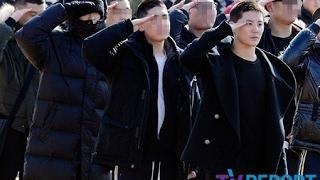 人気グループBIGBANGのT.O.Pと、JYJのジュンスが入隊した。 2人は2月9日...