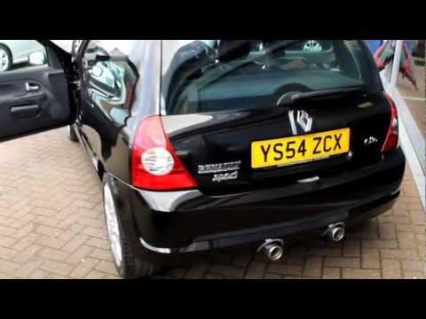 Renault clio dynamique black doovi for Garage renault occasion la rochelle