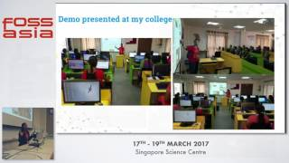 College Elections with loklak - Sushma Kukkadapu - FOSSASIA Summit 2017