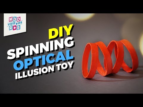 How to make a Spinning Optical Illusion Toy
