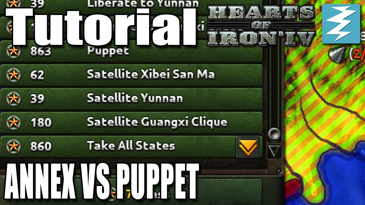 SHOULD YOU ANNEX OR PUPPET? - DAY 6# - Hearts of Iron 4 (HOI4)