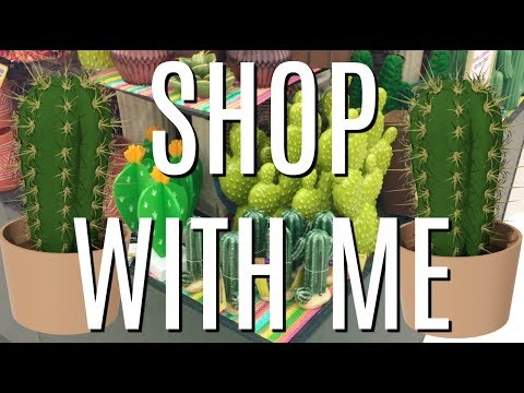 SHOP WITH ME FOR CACTUS DECOR