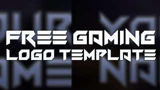 Free Gaming Logo Template #9 | Photoshop Template | D.U. Designs