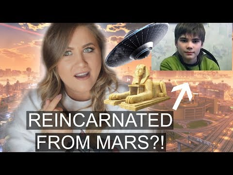 Russian Boy Claims He Was An Alien From MARS In A Past Life?