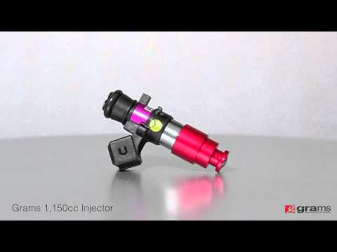 360° View: Grams 1,150Cc Injector - YT