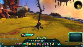 WildStar How Pine Tree (Withered) decor looks. Simple decor demo 190