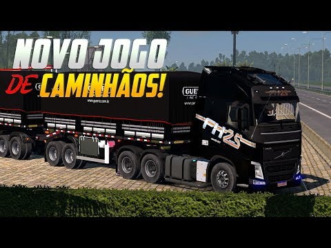 NOVO jogo de CAMINHÕES e ÔNIBUS Brasileiros para Android, iOS e PC - The Road Driver Novidades