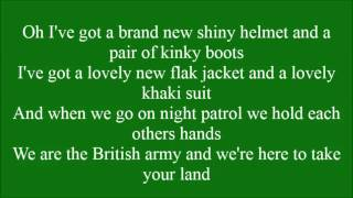 Kinky Boots with lyrics