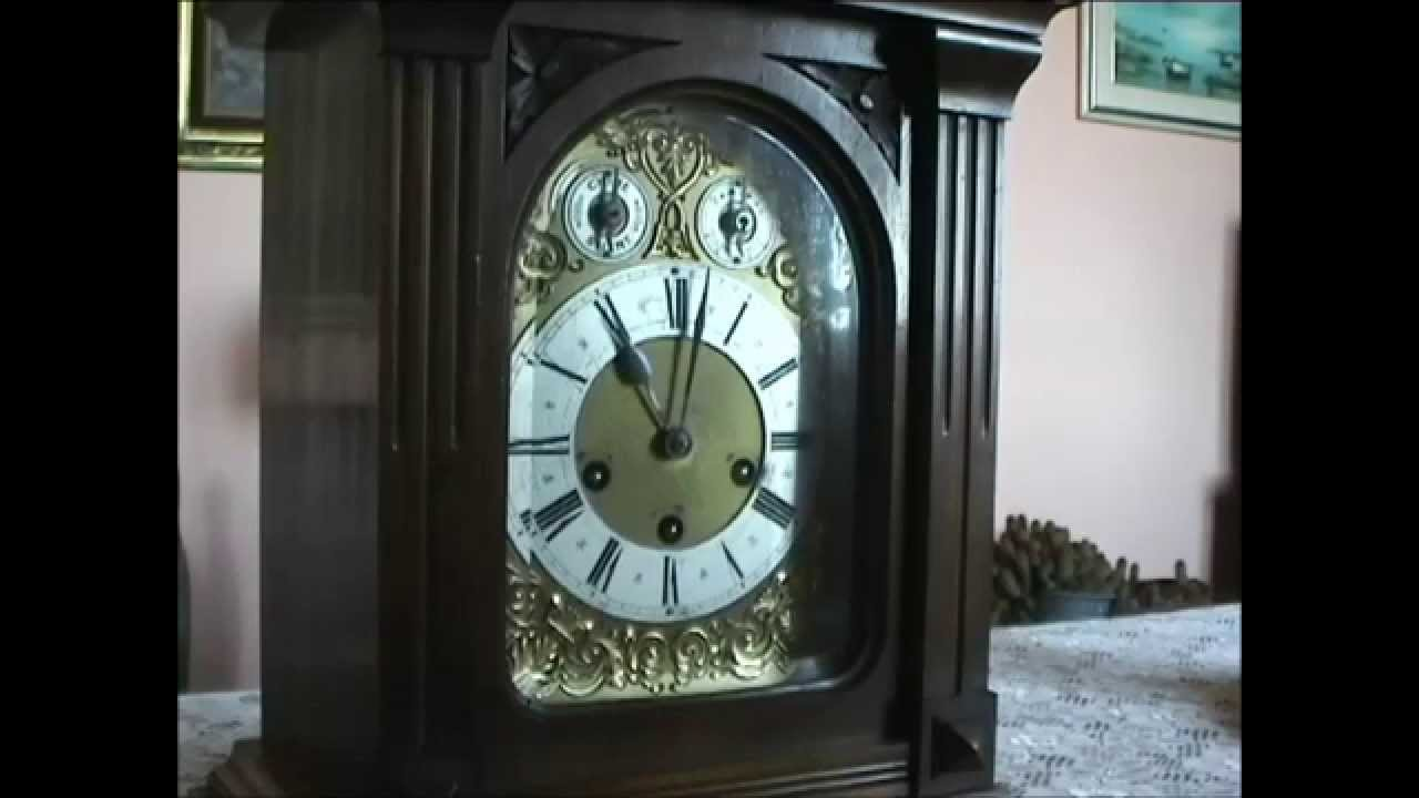Pendolo da tavolo junghans anno 1907 v 563 youtube - Orologio a pendolo da tavolo ...