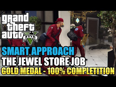 vote no on gta v the jewel store job all possibilities. Black Bedroom Furniture Sets. Home Design Ideas